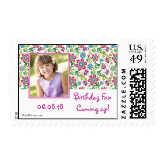 Happiness Photo Postage Stamp