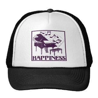 Happiness: Piano Trucker Hat