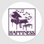 Happiness: Piano Sticker