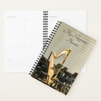 Happiness Planner / Golden Harp