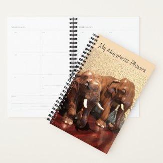 Happiness Planner / Good Luck elephants
