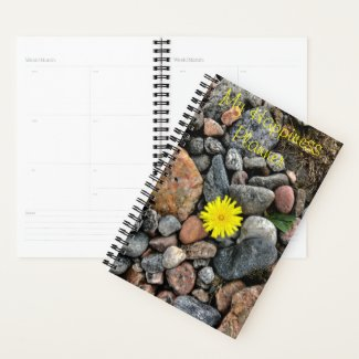 Happiness Planner Little Yellow Flower
