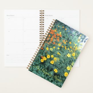 Happiness Planner Orange, Yellow and Green