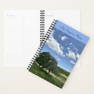 Happiness Planner Trees in a Field