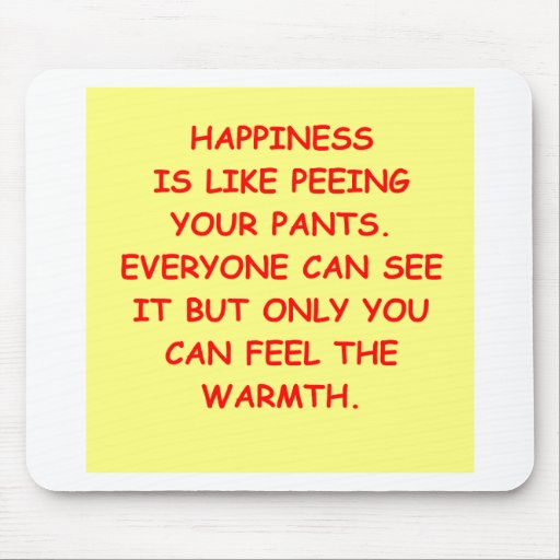 HAPPINESS.png Mouse Pad