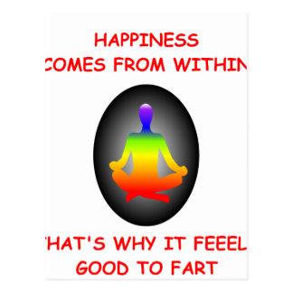 HAPPINESS POSTCARD