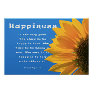 Happiness Poster: Ingersoll
