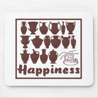 Happiness: Pottery Mouse Mat