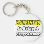 Happiness...Programmer Key Chains