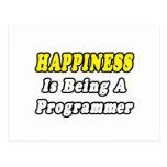 Happiness...Programmer Postcard