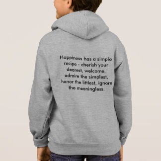 Happiness Recipe #1 Hoodie