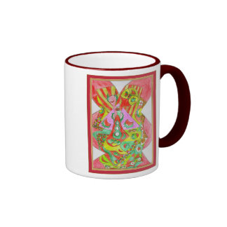 Happiness Ringer Mug