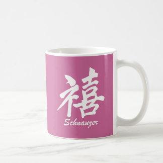Happiness Schnauzer Mugs