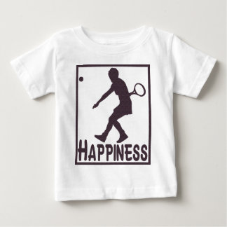 Happiness: Tennis Baby T-Shirt