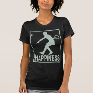 Happiness: Tennis T-Shirt