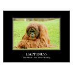 Happiness ~ That Short-Lived Elusive Feeling Poster