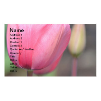 Happiness Tulips Business Card