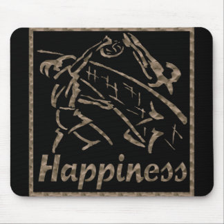 Happiness: Volleyball Mouse Pad