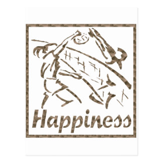 Happiness: Volleyball Postcard