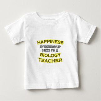Happiness .. Waking Up .. Biology Teacher Baby T-Shirt
