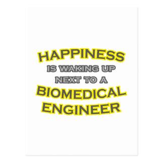 Happiness .. Waking Up .. Biomedical Engineer Postcard