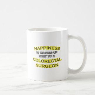 Happiness .. Waking Up .. Colorectal Surgeon Mugs
