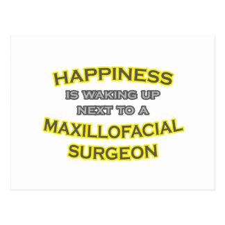 Happiness .. Waking Up .. Maxillofacial Surgeon Postcard