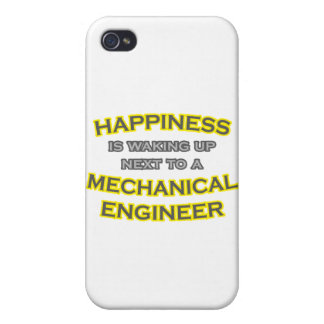 Happiness .. Waking Up .. Mechanical Engineer iPhone 4 Cases
