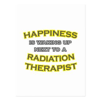 Happiness .. Waking Up .. Radiation Therapist Postcard