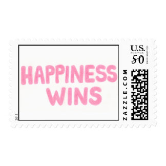 Happiness Wins Postage