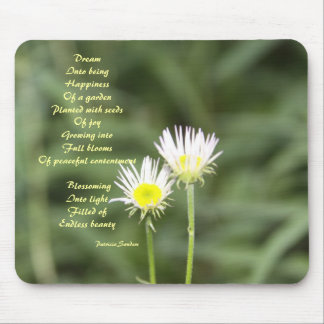 Happiness with poem mousepad