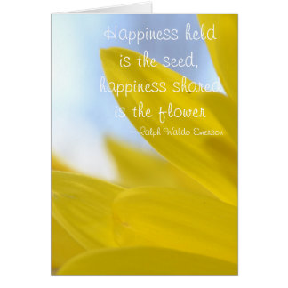 Happinss Held is the Seed Card