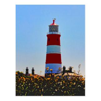 Happisburgh Lighthouse portrait Postcard