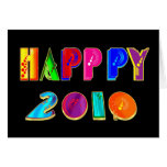 HAPPPY 2010 happppy New Year Tees and gifts Greeting Card