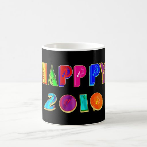 HAPPPY 2010 mug for New Years Eve 2010