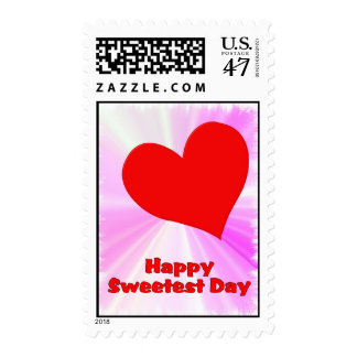 Happpy Sweetest Day Postage