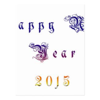 Happu New Year 2015 Hakuna Matata wishes.png Postcard