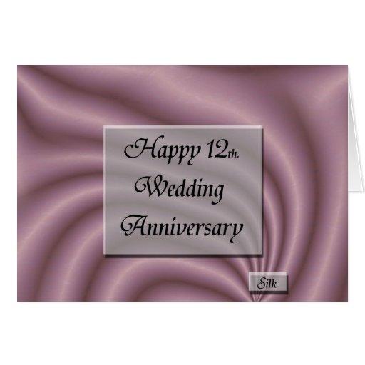 Happy th wedding anniversary card zazzle