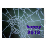 happy2012 tarjeta de felicitación
