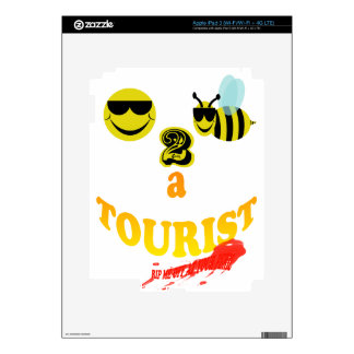 happy2bee a tourist rip me off if you dare iPad 3 skin