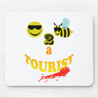 happy2bee a tourist rip me off if you dare mouse pad