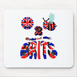 happy2bee behin the brits mouse pad