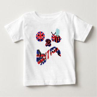 happy2bee british infant t-shirt