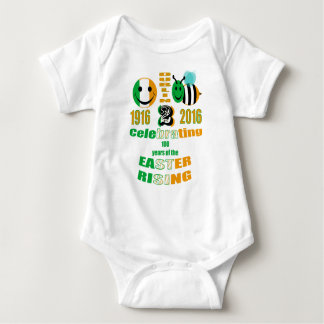 happy2bee celebrating the easter rising baby bodysuit
