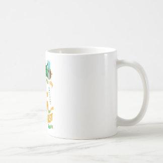 happy2bee eating a full irish breakfast coffee mug