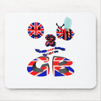 happy2bee following team G B Mouse Pad
