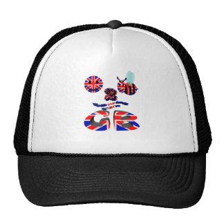 happy2bee following team G B Trucker Hat
