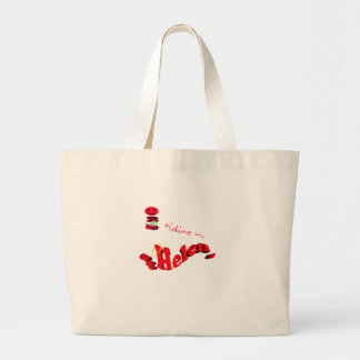 happy2bee riding in st helens jumbo tote bag