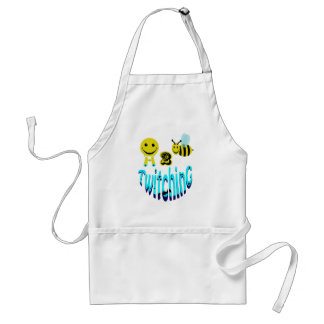 happy2bee twitching adult apron