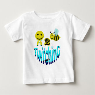 happy2bee twitching baby T-Shirt